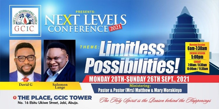 Next Level Conference 2021 - God's City International Church