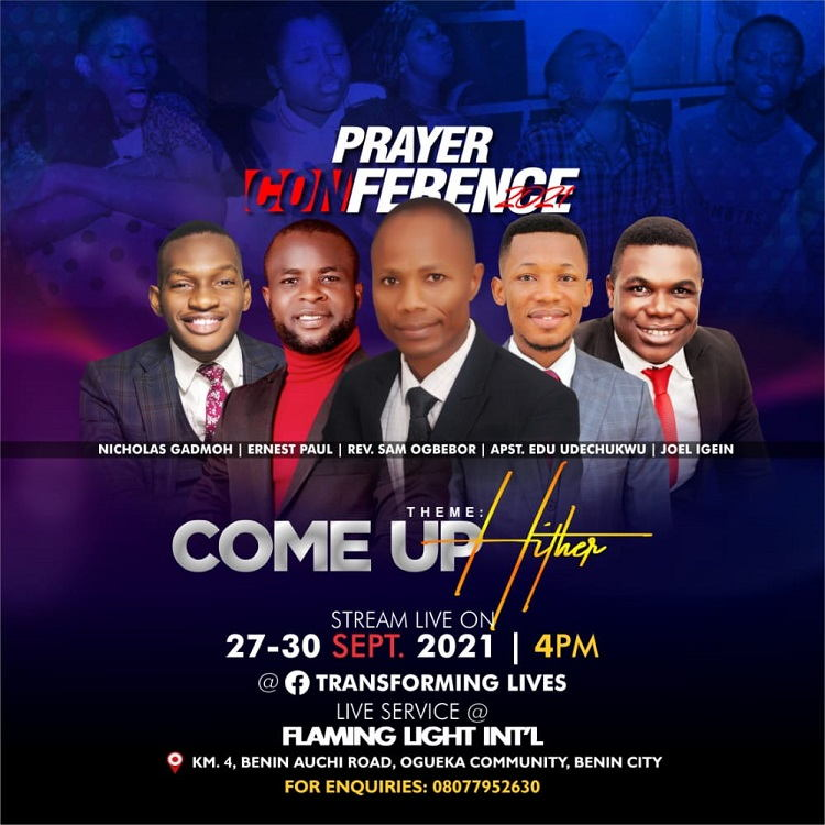 Prayer Conference 2021 - Joel Igein