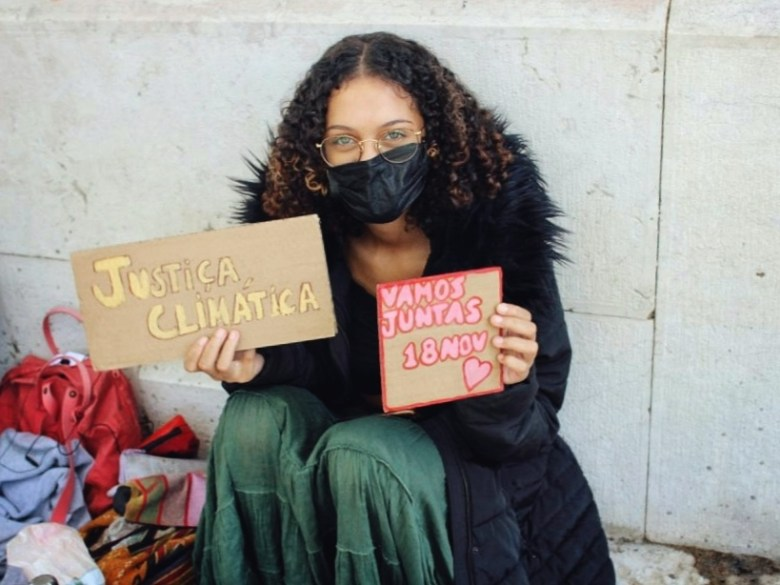 Aurora Gomes greve climática estudantil lisboa
