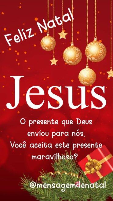 Jesus, o Presente de Deus