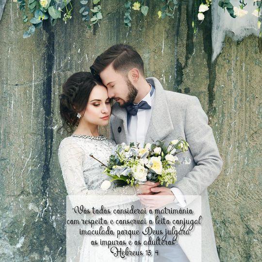 Versículos Bíblicos Para Casamento Abençoado -Versículos Sobre Amor Hebreus-13-4