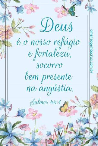 Deus é o nosso refúgio