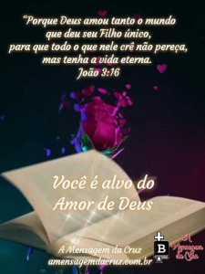 Grande Amor de Deus - Mensagem Bíblica