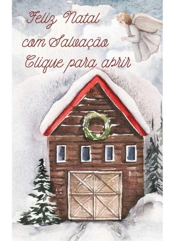 Feliz Natal Com Salvação - Mensagem de Natal