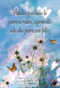 Bom Dia Pra Ser Feliz - Mensagem Bíblica de Bom Dia - Salmos 37