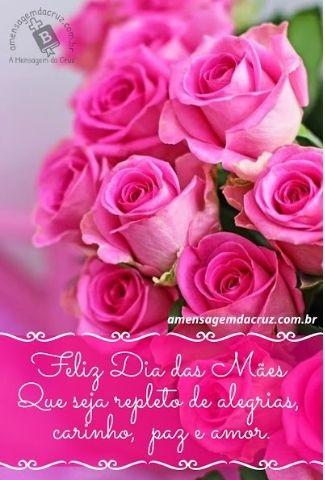 Feliz Dia das Mães - Mensagem para mamãe