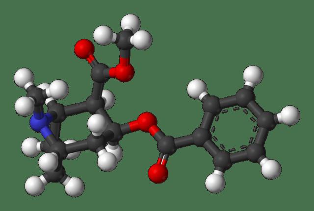 Fórmula química da cocaína