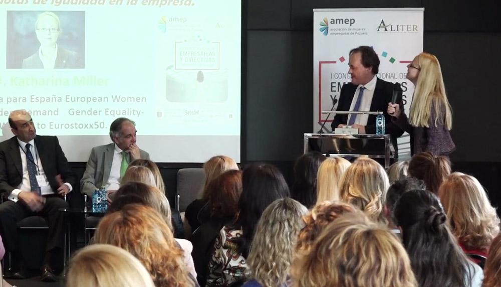 I Congreso Mujer Empresaria Pozuelo 2016 AMEP Asociación de mujeres empresarias