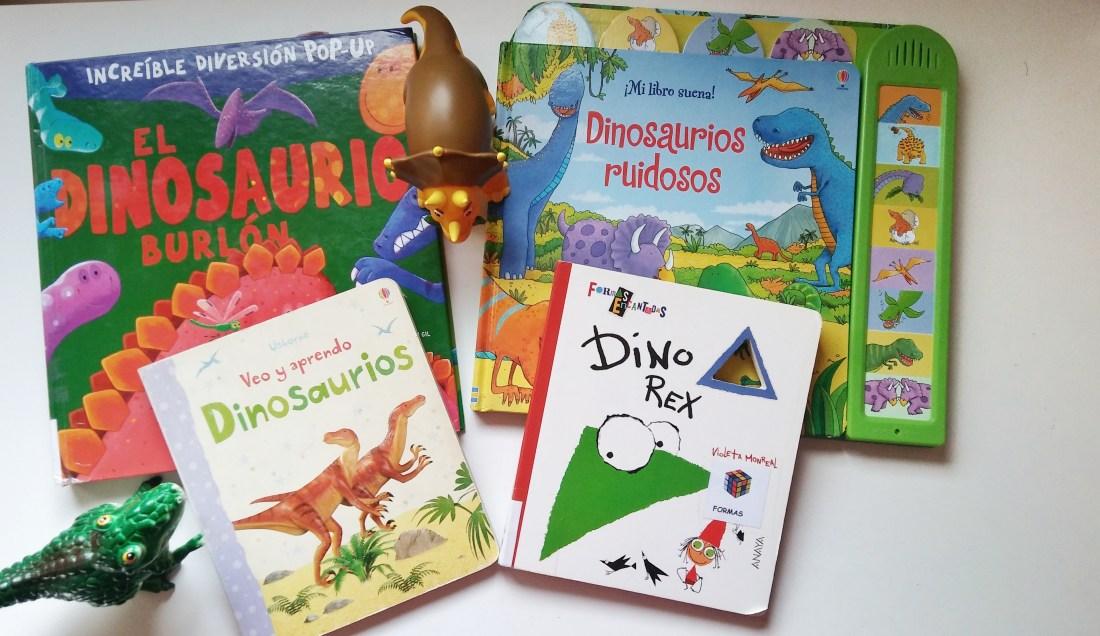 libros dinosaurios