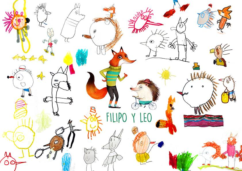 filipo y leo dibujos niños