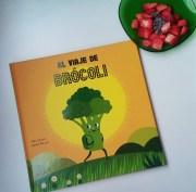 El viaje de Brócoli, un divertido cuento para no dejar nada en el plato