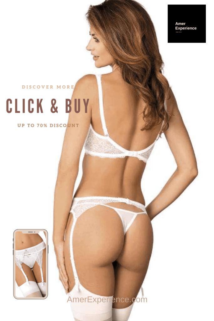 Lavinia Sexy Lingerie Design Lencería Blonde Straps So Hot