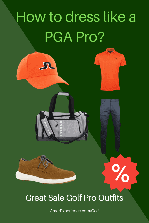 What the golf PGA Pros dress?