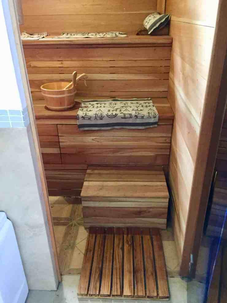 Suomalainen sauna ulkomailla, AMER EXPERIENCE