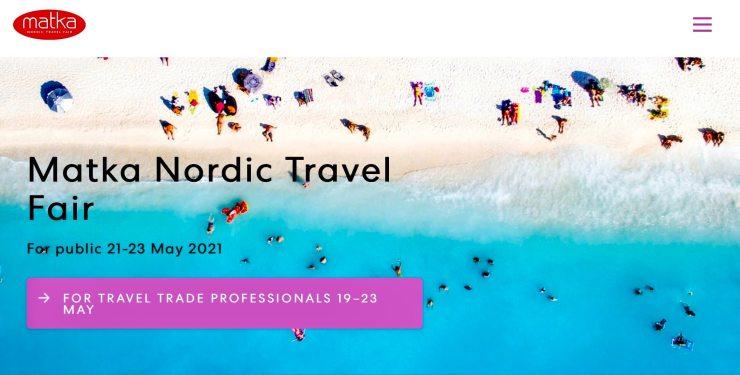 Matka Feria de Viajes 2021 Helsinki Finlandia