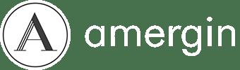 Amergin Logo White