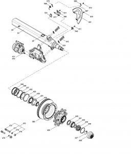 Полуприцеп KRONE с осью BPW 9010 Eco