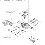 Тормозной суппорт BPW в сб с тормозной накладкой BPW 8200, TSB 4309
