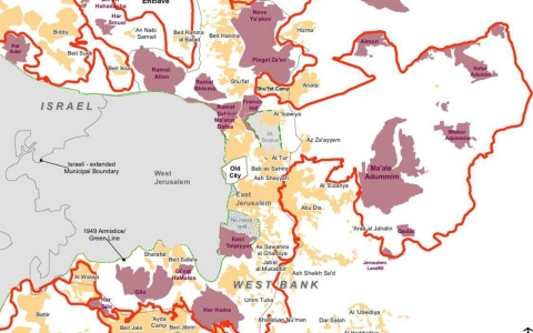 Thumbnail image for Maps: The occupation of the West Bank