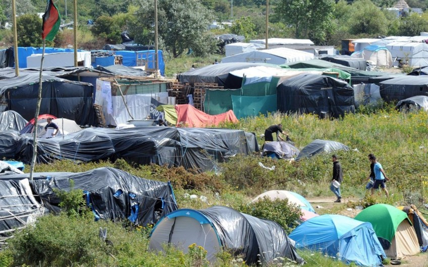 Image result for free to use image of calais refugees