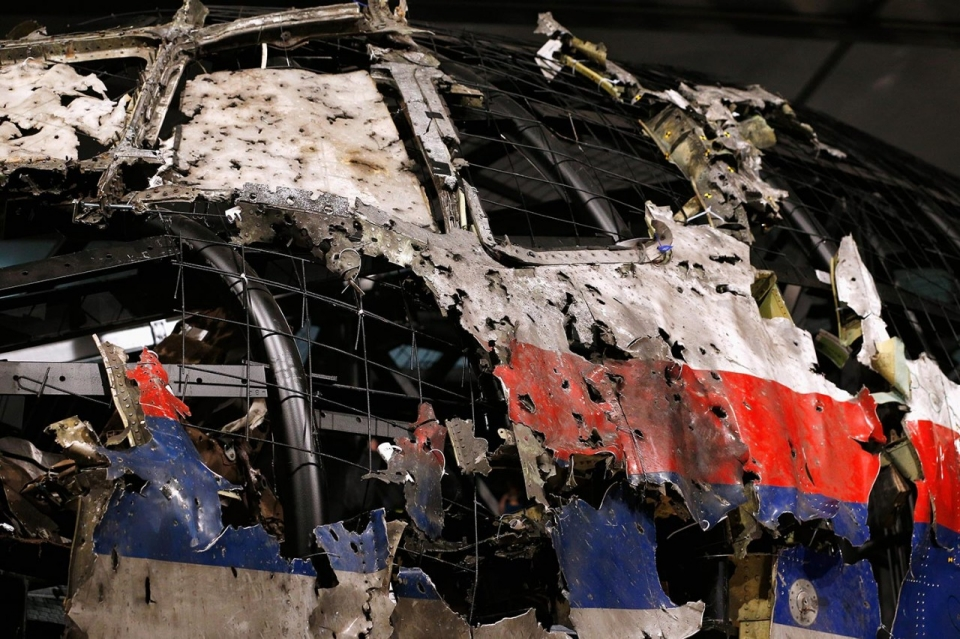 Photos Wreckage Of Mh17 Reconstructed Al Jazeera America