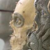 Sculpted facial reconstructions