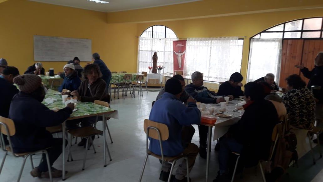 COMEDOR COMUNITARIO EN TIERRAS BLANCAS
