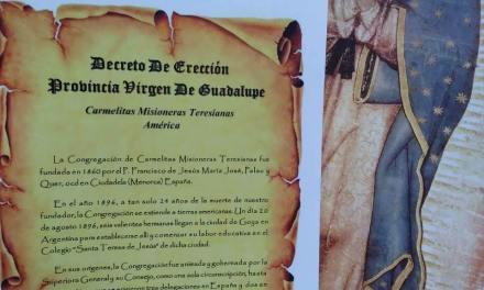Decreto de Fundación Provincia Virgen De Guadalupe CMT América