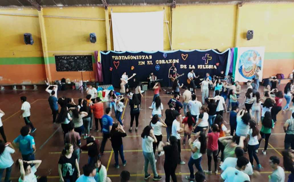 JORNADA DIOCESANA JUVENIL EN NUESTRO COLEGIO DE CATAMARCA