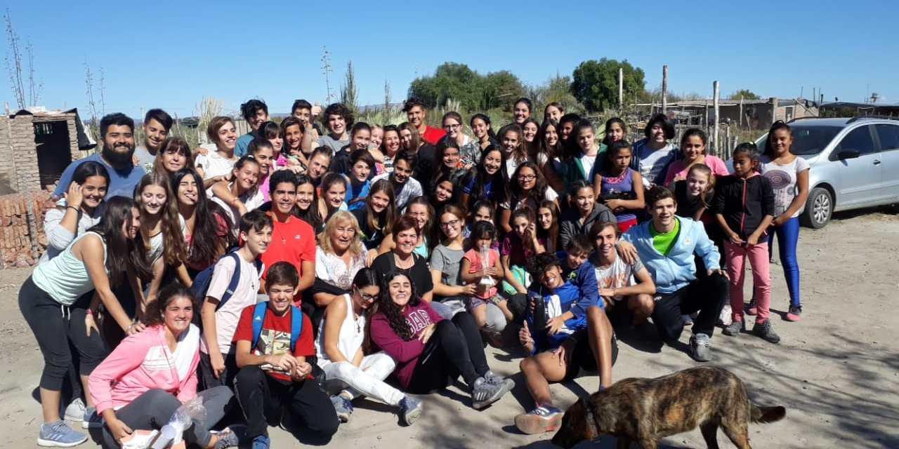 Primera Misión de la Pastoral Misionera desde tres años acompañando a las familias del lugar