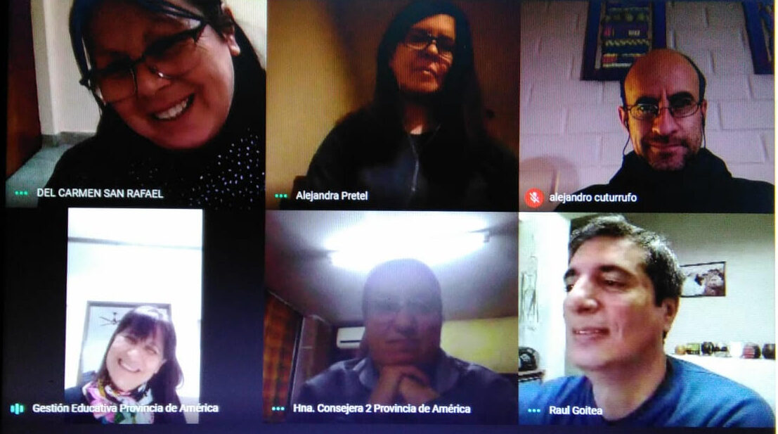 ENCUENTRO DEL EQUIPO DE GESTIÓN EDUCATIVA DE AMÉRICA