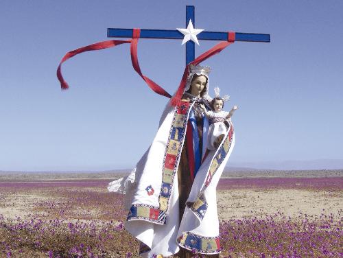 ¡VIVA LA VIRGEN DEL CARMEN!¡VIVA LA GENERALA DE CHILE!