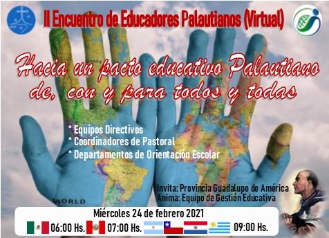 II Encuentro de Educadores Palautianos