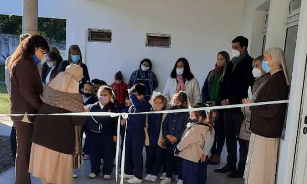 CURUZÚ-CUATIÁ: INAUGURACIÓN SALAS DE JARDÍN DE INFANTES