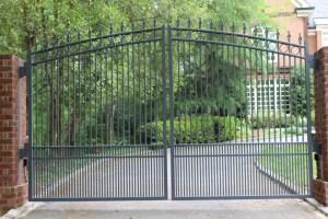Metal Ornamental Driveway Gate | America Fence