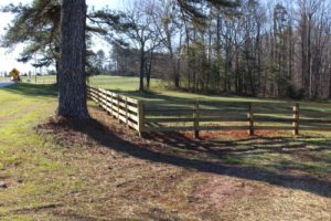 Rural Custom Wood Fence | America Fence