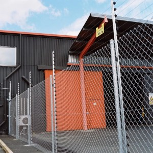 Electric Perimeter Fence Around a Business | America Fence