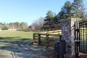 Electric Gate Operator on a Wood Fence | America Fence