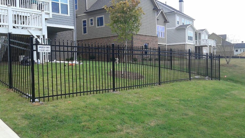 Fences In Lawrenceville Braselton Buford America Fence