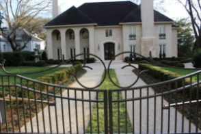 Best Estate Gates in Cumming GA, fence company Dacula Georgia