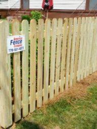 wood fence dacula, wood fence Lawrenceville