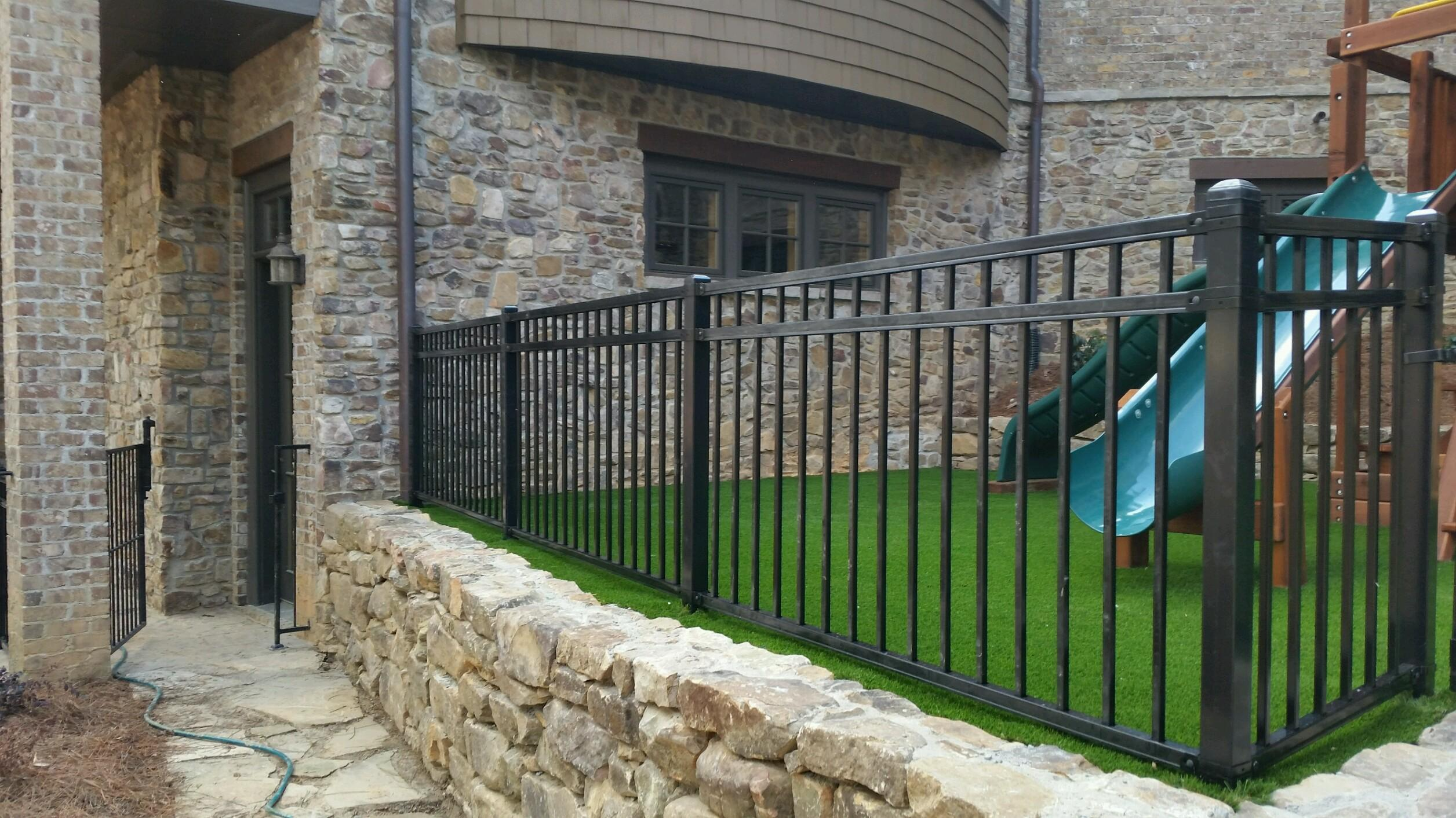 metal fencing installation america fence