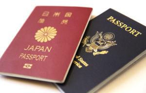 アメリカ&日本パスポート