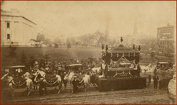 Lincoln Funeral in Ohio