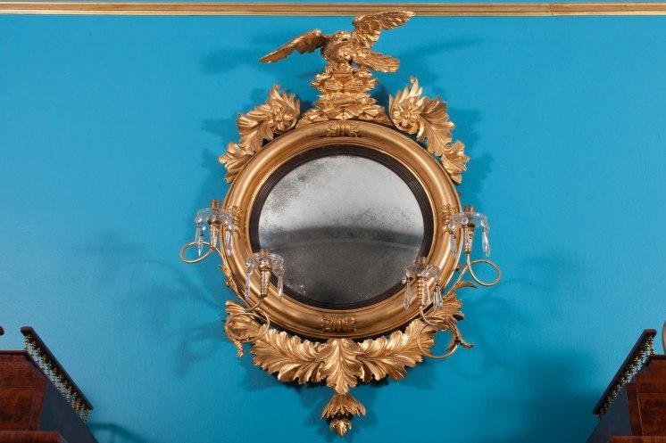 M-JWM-Convex Girandole Mirror (1)
