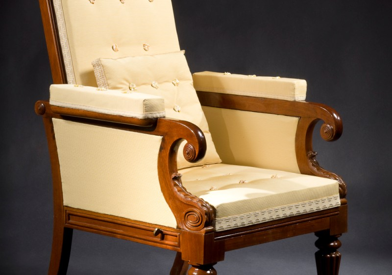 Classical Mechanical Easy Chair