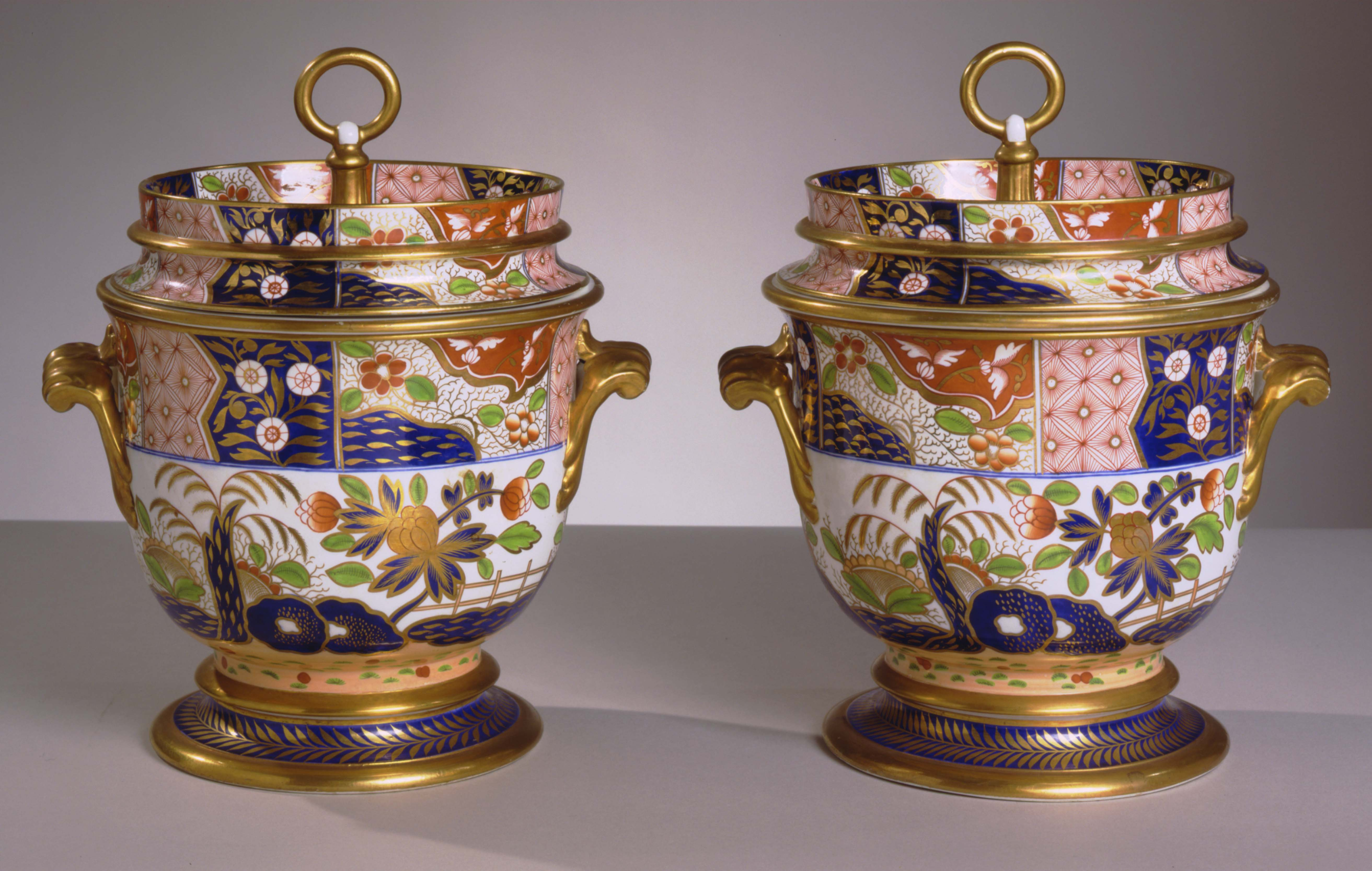 GSP-106-P Pair of Spode Ice Pails (1)