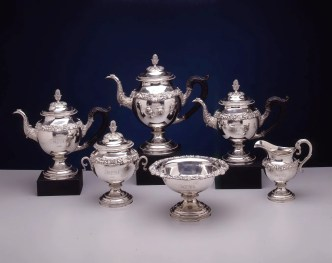 Silver Tea Service by Harvey Lewis