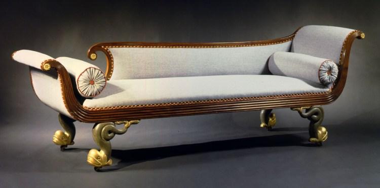 """Grecian """"Recamier"""" Couch"""