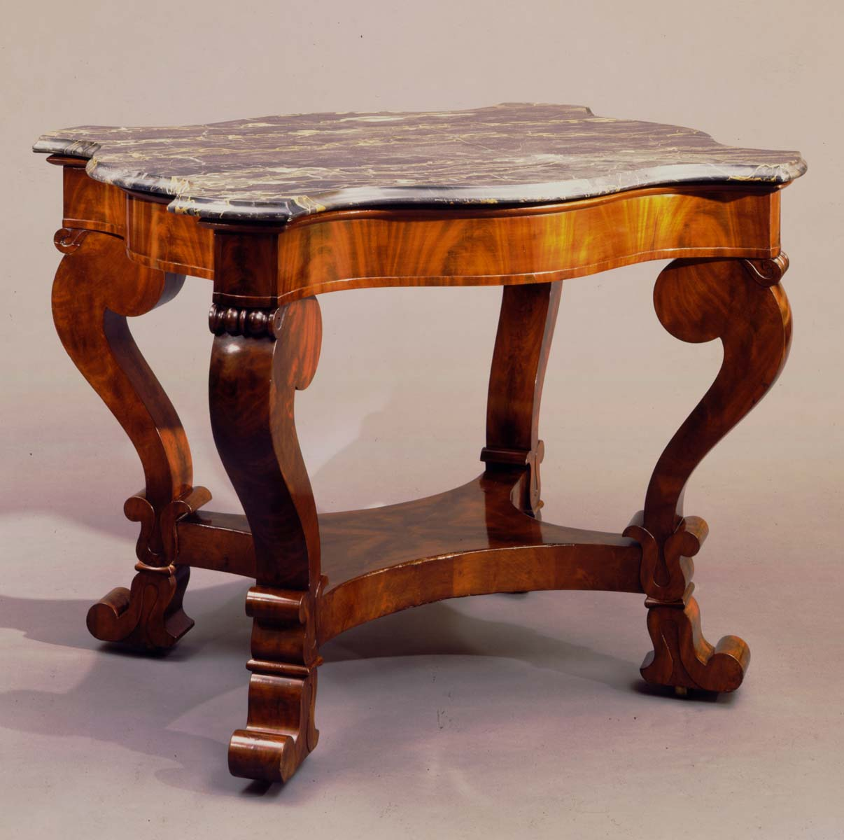T-C-94441 Meeks Turtle-Top Center Table